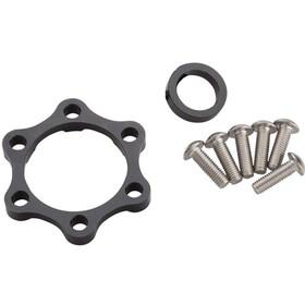 Problem Solvers Booster Spacer Kit voor achternaven 6mm, silver/black